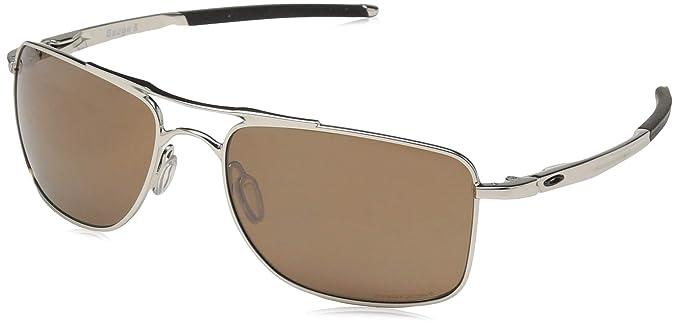 Oakley Gauge 8 >> Amazon Com Oakley Men S Gauge 8 Sunglasses Medium Polished Chrome