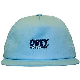Obey - Gorra con Visera Plana para Hombre Portland Snapback ...