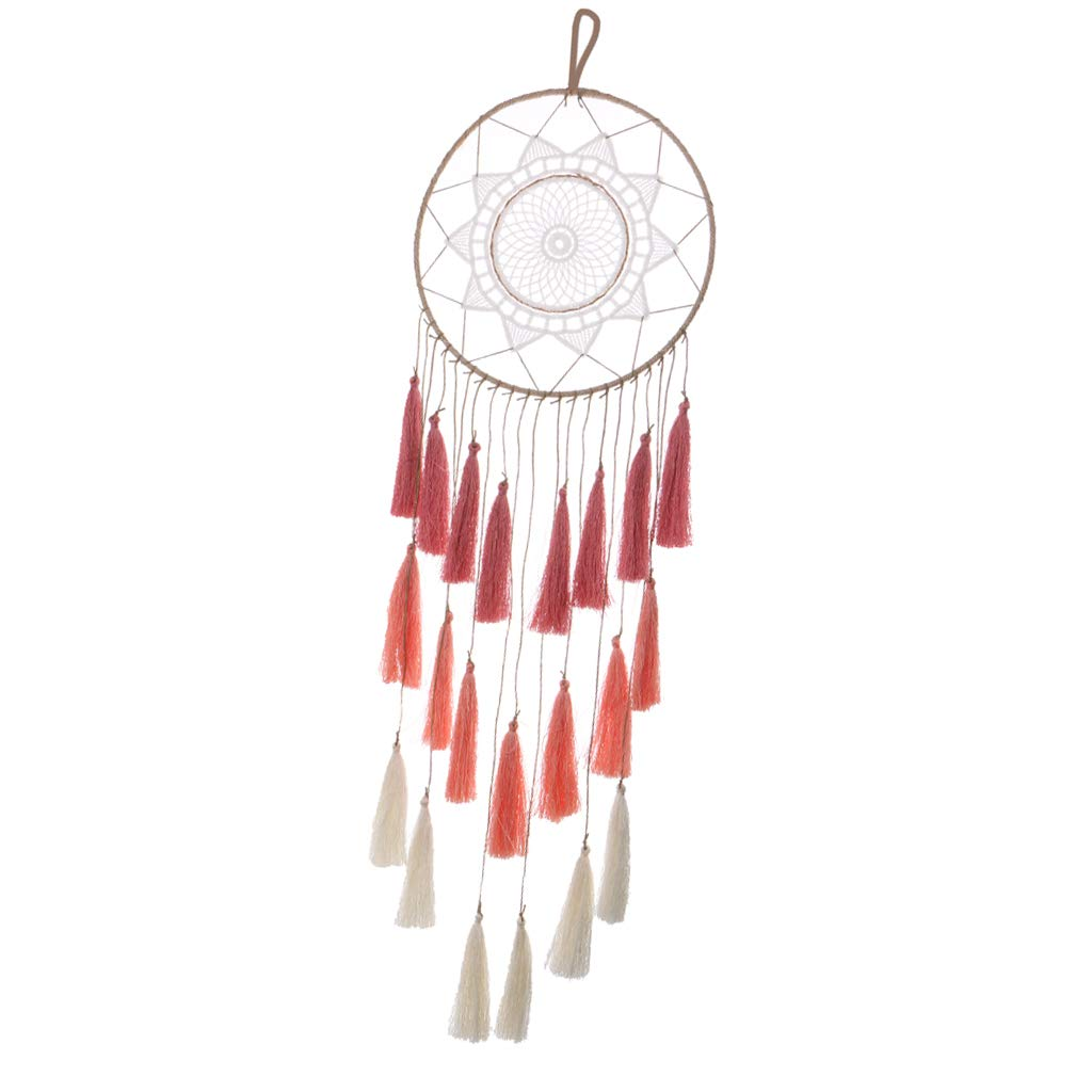 Fityle Trendy Girls Boys Dream Catcher Dreamcatcher Wall Hanging PENDAANT Ornament Traditional Indian - Blue