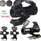 (US) Ledsniper®1x35mmred/green Dot Sight Scope Tactical Reflex Stinger 4 MOA Red & Green Dot Sight Scope