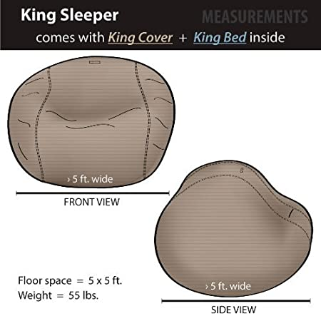 Amazon.com: cordaroy S – Pana – Puf (– Rey Sleeper: Kitchen ...