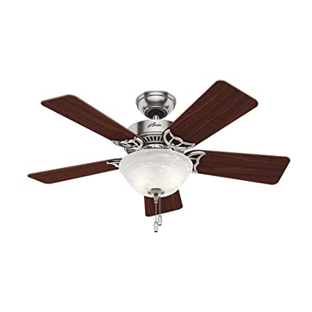 42 Kensington Ceiling Fan with Freebies Brushed Nickel