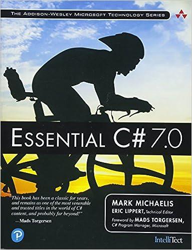 7b8b31f6ea3 Essential C# 7.0 (Addison-Wesley Microsoft Technology): Amazon.co.uk ...