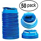 50 Pack Emesis Bag, Disposable Vomit Bags, Aircraft & Car Sickness Bag, Nausea Bags for Travel Motion Sickness