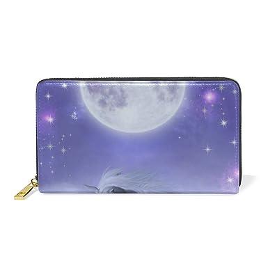 Cartera de mujer Monedero Starry Moon Cave Bolso de embrague ...