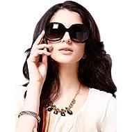 LianSan Women's Oversized Polarized Sunglasses Lsp301