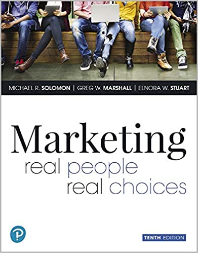 Marketing: Real People, Real Choices by Marshall/Solomon