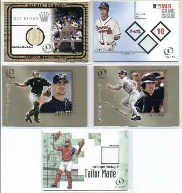 2001 Fleer Legacy Tailor Made #20 Ivan Rodriguez Jersey Card