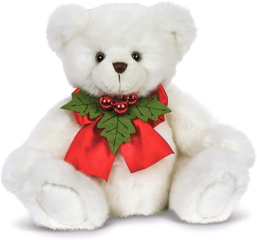 Bearington Hollister Hollybeary Christmas Stuffed Animal Teddy Bear, 15 inches