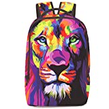Chiclinco 3D Animal Face Printing Lion Cat Horse