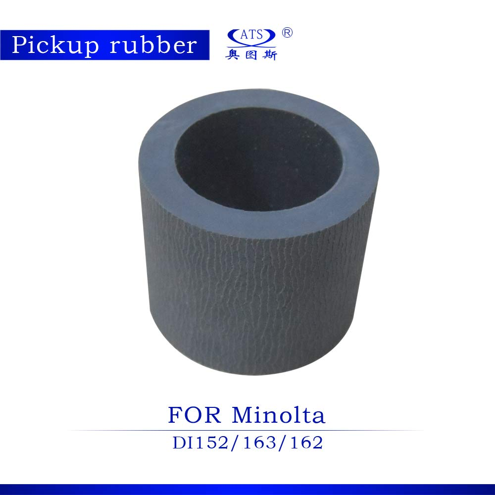 Printer Parts 10 Sets / Lot Copier Spare Parts Copier Pickup Rubber for Minolta DI152 DI163 DI162 2PCS/Set Photocopy Machine Part 152 163 162