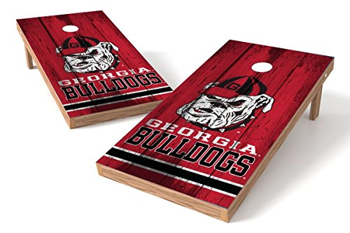 georgia bulldog corn hole - 7