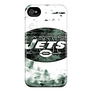 JasonPelletier Iphone 4/4s Bumper Hard Phone Cover Customized Attractive New York Jets Image [jrG5999iBru] hjbrhga1544