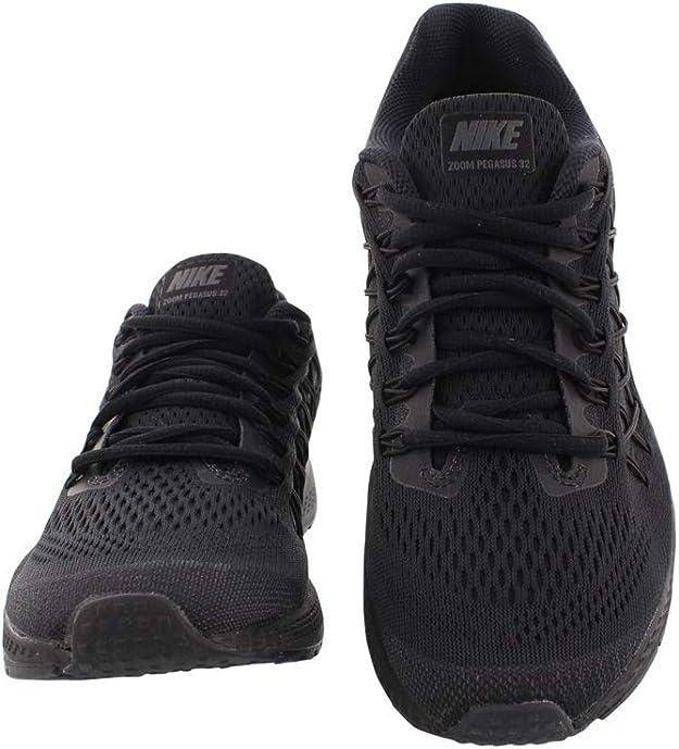 Nike Air Zoom Pegasus 32, Scarpe da Corsa Uomo, Nero, 47 EU