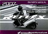 31KSZ630 2007 Honda NSS250A Reflex Owners Manual