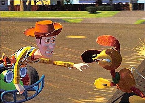 1995 Walt Disney TOY STORY Trading Card Slinky Dog #33 Sky Box