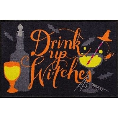 (Midnight Market Halloween floor Mat Printed Rug 20