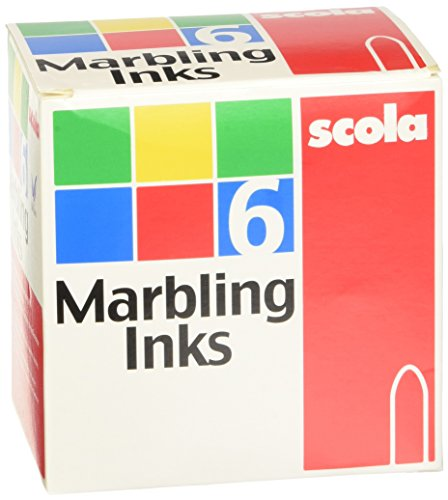 Scola 6 x 25ml Marbling Inks Marbling Ink
