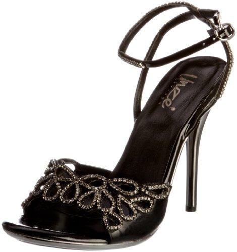 Evening Sandals L18475W Negro Sandalias mujer para Unze d7wpqd