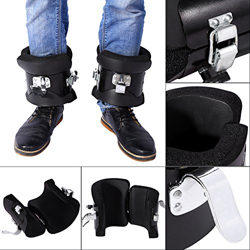 Anti Gravity Inversion Hang Up Boots Inversion Boots Gravity Compression Relief Exercise Recovery With Contoured Pads
