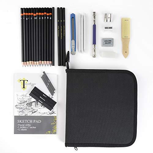 (Tavolozza Drawing Art Set in Soft-Sided Art Portfolio Storage Bags ...)