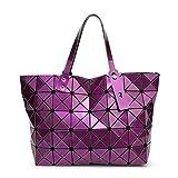 HIFISH HB125094 PVC Korean Style Women's Handbag,Bucket-Type Bucket Bag