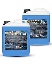 INOX® Arctic antivries ruitensproeier, concentraat, 2 x 10 liter, voor ruitenwisserwater tot -35 °C