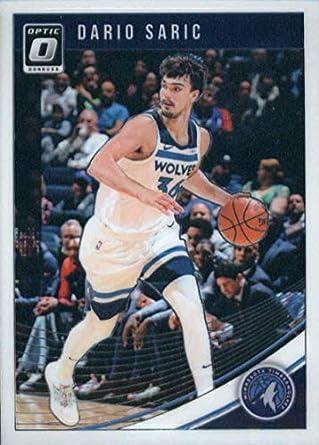 f284d8bbf56c 2018-19 Donruss Optic  89 Dario Saric Minnesota Timberwolves Basketball Card