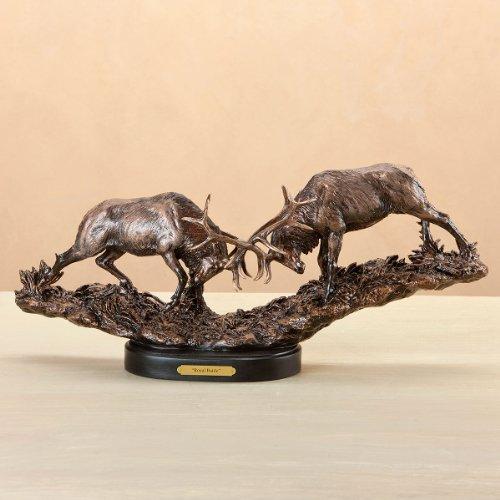 Marc Pierce Signature Collection Royal Battle, Elk Sculpture by Marc Pierce Signature ()