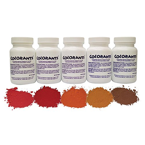 Brick Colorant Assortment - 5 Pack -