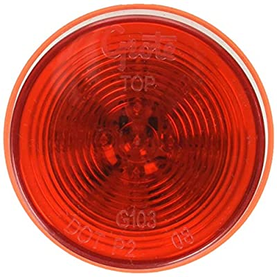 Grote G1032-5 Hi Count Red 2 1/2
