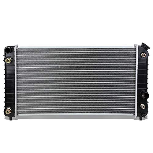 (DNA Motoring OEM-RA-1826 Aluminum Radiator [For 96-05 Chevy Blazer/GMC Jimmy AT])