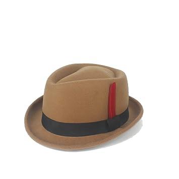 Sombreros de moda gorras, Nuevo Sombrero de Fedora Sombrero de ...