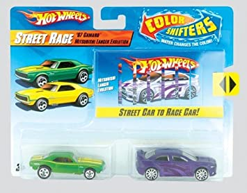 Hot Wheels Colour Shifters Pack Of Two Various Colors