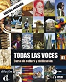 Todas las voces: Libro + audio MP3 descargable + DVD (B1) - revised edition