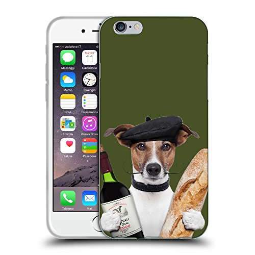 GoGoMobile Coque de Protection TPU Silicone Case pour // Q05590605 Baguette Army Green // Apple iPhone 6 4.7""