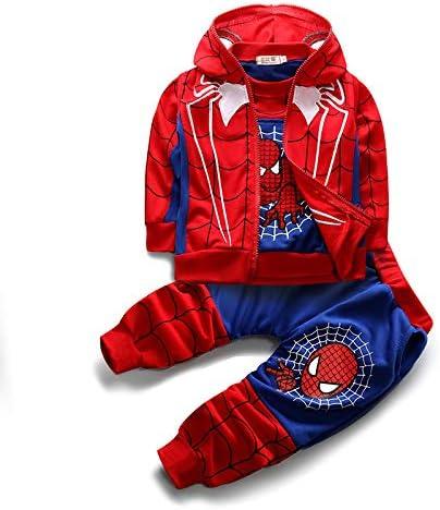 3pcs//Set Baby Clothing Coat T-Shirt+Patchwork Pants Sets