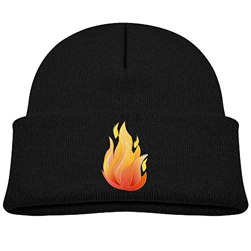 HOOAL Bonfire F29 Baby Boy Winter Warm Hat, Lovely Knit Beanies Cotton Cap for Girls and Boys -