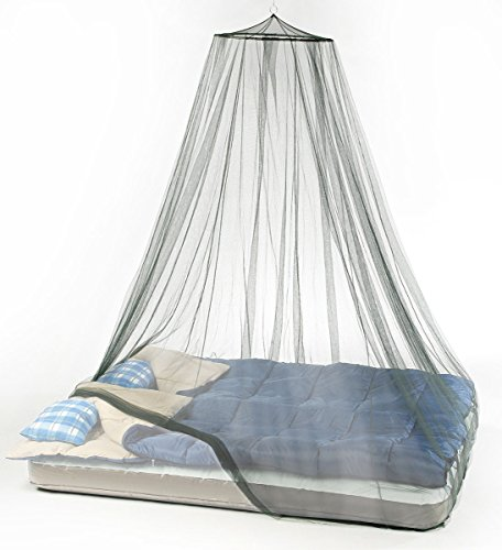 Atwater Carey Mosquito Net Treated with Insect Shield Permethrin Bug Repellent, Hanging Spider Screen Canopy Bed - Protection Mosquito Net Bug