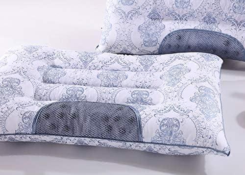 Oreiller bébé Oreillers Premium remplis de fibres (paquet de 2, blanc) - Taille standard - 100% coton et intérieur en cassia, favorisent le sommeil