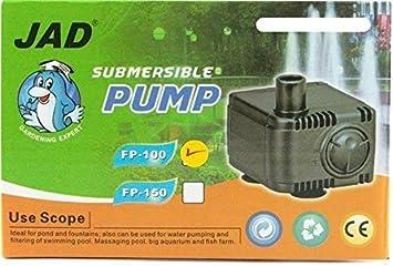 Jad Mini bomba de filtro FP100 hasta 120 l/h/Bomba Bomba de extracción para Nano de acuarios: Amazon.es: Productos para mascotas