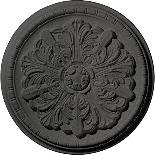 Ekena Millwork CM17WASGS Washington Ceiling Medallion, Steel Gray by Ekena Millwork (Image #6)