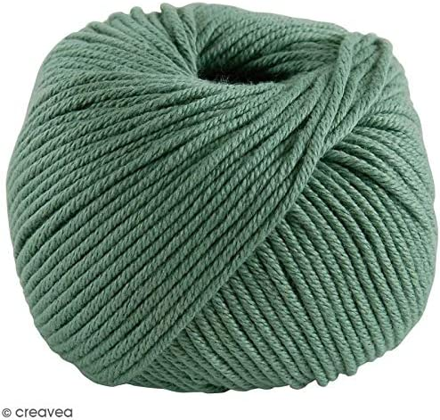 DMC Natura Ovillo, 100% algodón, Color 87, Color Verde: Amazon.es: Hogar