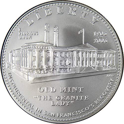 2006-S $1 San Francisco Old Mint Centennial Silver Dollar Choice Uncirculated ()