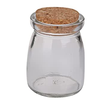 Mini Round Glass Storage Jars Bottle Terrarium Container Canister W
