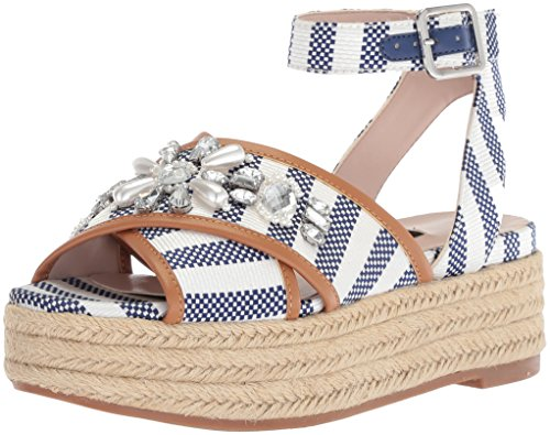 Image of Nine West Women's STARSPIRIT Fabric Sandal