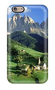 Elliot D. Stewart's Shop Hot 5241149K18239897 New Style Case Cover Val Di Funes Dolomites Italy Compatible With Iphone 6 Protection Case