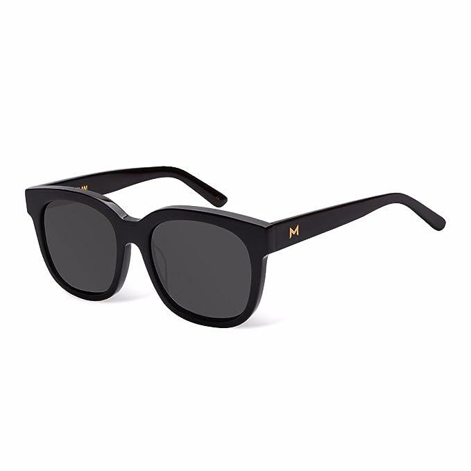 Monglam - Gafas de sol, Moon shadow black: Amazon.es: Ropa y ...