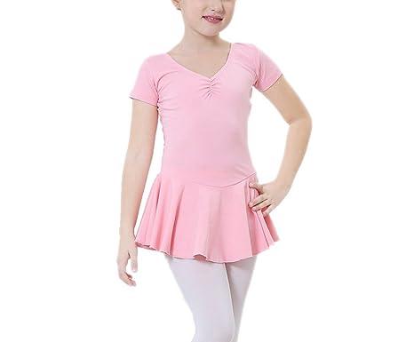ELE Gens niña niños danza Maillot falda vestido Ballet vestido ...