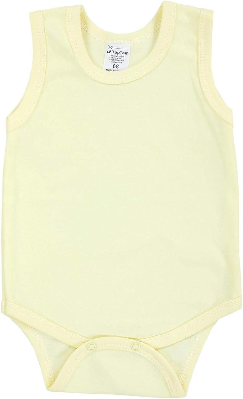 TupTam Body per Bambina Senza Maniche Pacco da 5 pz